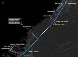 big hyperloop for uae map inhabitat