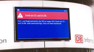 """""""die gdl wird nicht zu warnstreiks von einigen stunden oder einem tag aufrufen. Gdl Streik Zugausfalle Auch Rund Um Nurnberg Br24"""