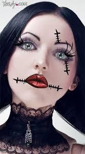 gothic rag doll makeup