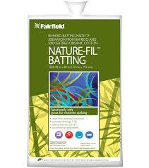 Nature-Fil™ Blend Quilt Batting,50% Organic Cotton/50% Rayon from ... & Fairfield Nature-Fil Batting 60\u0022x60\u0022 Adamdwight.com