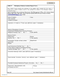 Sample Of Accident Report Writing And Fire Incident Report Template