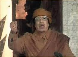 Image result for خطاب معمر القذافي