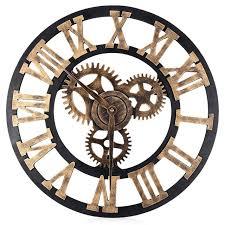 Small Picture Aliexpresscom Buy 177 Inch Digital Wall Clocks Design 3D Large