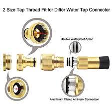 garden hose thread size hose pipe lusanity black 100ft stronger double latex inner tube