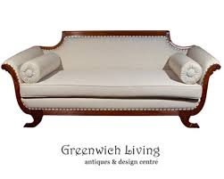 greek inspired furniture. Fabulous Duncan Phyfe Style Sofa All New Upholstery Greek Inspired Furniture