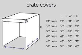 Kong Crate Size Chart Dog Crate Covers Kennel Covers Cover A Dog Crate Molly Mutt