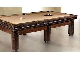 rectangular wood veneer pool table playing a round by tonino lamborghini casa