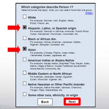 race in application form census considers new approach to asking about race by not using