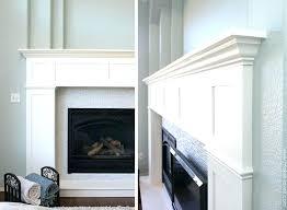 fireplace mantels building mantel build legs favored nor