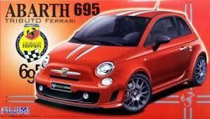 The abarth 695 tributo ferrari is the new performance version of the abarth 500. Fujimi 1 24 Fiat Abarth 695 Tributo Ferrari Plastic Model Kit 123844 Ebay
