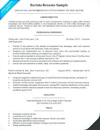 Barista Resume Template – Weeklyresumes.co