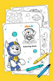 Sea Patrol Coloring Page Printable Coloring Page For Kids