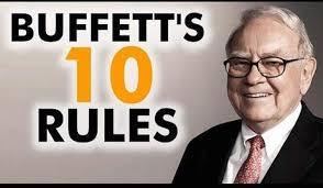 warren buffett s top rules for success warren buffett rules for success success advice from warren buffett