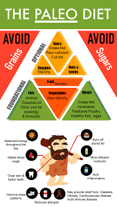Paleo Chart How To Lose Weight Following A Paleo Diet Plan Fitneass
