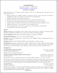 Technical Writer Resume Template Resume Technical Writer Resume cover letter 28