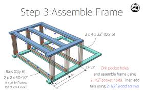 Free Woodworking Plans  How To Make A Potting BenchPlans For A Potting Bench