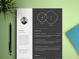 Free Infographic Resume Template Free Design Resources