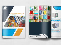 Office Stationery Design Templates Stationery Products Catalog Brochure Template By Owpictures