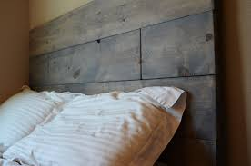 Rustic Furniture Stain Rustic Wood Headboard Cordoba