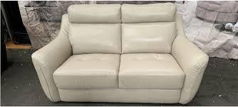 sisi italia semi aniline leather sofa