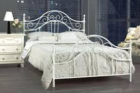 Wrought Iron Queen Bed Mesmerizing Wrought Iron Queen Bed Frame ...