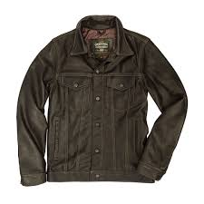 calfskin leather jean jacket calfskin leather jean jacket