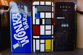 Vending Machine Vinyl Wrap Enchanting Custom FridgeWraps For Smeg Competition Vinyl Revolution
