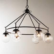 glass orb lighting. multi glass orb chandelier 6 light english_bronze lighting s