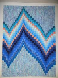 Polar Bear bargello quilt kit at Northern Threads | Bargello ... & No-Measure Bargello pattern designed by Wendy Mathson, published by Cozy  Quilt Designs for Adamdwight.com
