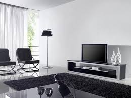 black and chrome furniture. Extraordinary Tv Stand Living Room Furniture Black White Wood Modern Stands Shag Further Area And Chrome R