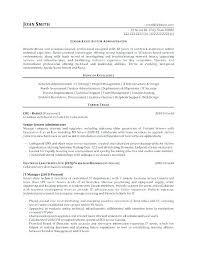 Property Administrator Resume Government Duties Job Opening Sample