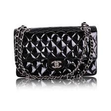 chanel patent leather classic jumbo double flap bag