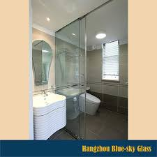 shower glass partition china as rtificated shower glass partition glass clear toughened glass with low pri shower glass partition
