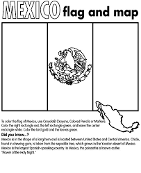 Small Picture Mexico Flag Coloring Free Printable Coloring Pages Mexico Map