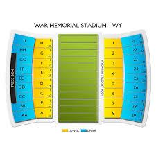 War Memorial Stadium Wyoming Seating Chart War Memorial Stadium Tickets Wyoming Cowboys Home Games