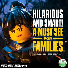 The LEGO NINJAGO Movie - Assemble your family for #LEGONINJAGOMovie, making  audiences laugh in a theater near you today!