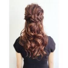 セットロングハーフアップアレンジ Peak Of Hairピークオブヘア
