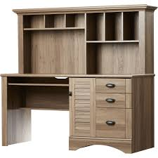 beachcrest home pinellas rectangular computer desk with hutch and storage drawers
