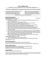 Property Manager Resume Sample Templates Unique Maintenance Pdf
