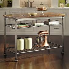Home Styles Gray Industrial Prep Tables
