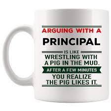 Amazoncom Arguing Principal Mug Vice Assistant Coffee Cup Joke Gag