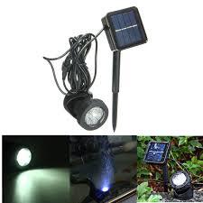 Underwater Solar Led Lights Solar Power Submersible Underwater Lamp Led Light Garden
