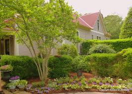 p allen smith s garden on side of house