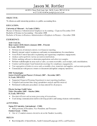 Controller Resume Objective Samples Free Resume Templates