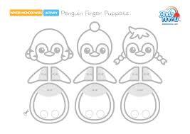 Day 3 Penguin Finger Puppet Badanamu