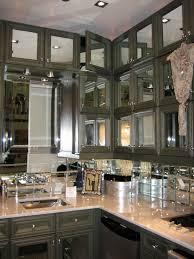 Mirror Backsplash In Kitchen Mirrored Kitchen Backsplash Caracteristicas