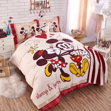 33 ingenious inspiration ideas mickey mouse king size duvet cover disney cartoon bedding authentic set 100 cotton sheet single
