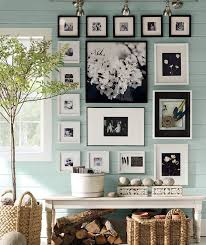 on wall art frames with tips for creating a cohesive gallery wall