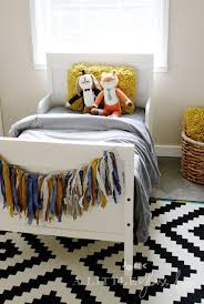 2 ikea kids bedrooms. love this little boys room - order a custom colored garland from northern cottage 2 ikea kids bedrooms