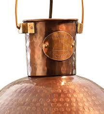 copper light pendant grey and copper pendant light shade
